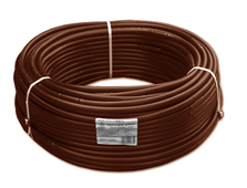 Капельный шланг WATER DRIP шаг 33см (коричневый), стенка 1,0мм, по 100м в бухте