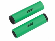 "Грипсы BBB ""StickyFix"", цвет: зеленый, 13 см, 2 шт"