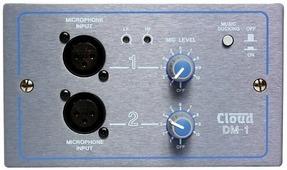CLOUD DM-1 Панель удаленного управления для Z4, Z8, MPA626, 2 микрофонных входа с регулировкой громкости