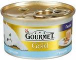 Консервы GOURMET GOLD для кошек паштет Тунец 85гр