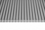 Поликарбонат сотовый Sunnex Серый 8 мм