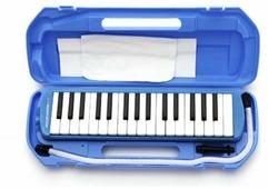 Suzuki Study32 мелодика духовая клавишная 32 клавиши в кейсе/цвет голубой