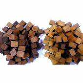 Дубовая щепа (кубики), сильный обжиг 500 г