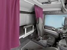 Комплект автоштор Эскар Blackout - auto SK, бордовый, 2 шторы 120 х 160 см, гибкий карниз 3 м