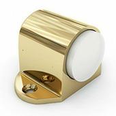 Стопор дверной цилиндр золото