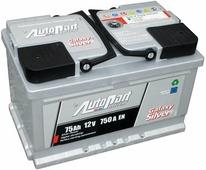 Аккумулятор для легковых автомобилей Autopart Galaxy Silver (80 A/h), 800A R+