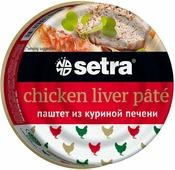 Setra паштет из куриной печени, 100 г