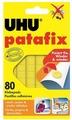 UHU Клеящие подушечки цвет желтый 50140