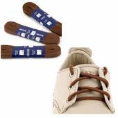 Шнурки Saphir 150см. круглые, толстые (37 средне-коричневый)