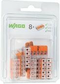 Клеммы Wago 221-415/996-008, 5 х 4 мм² (8 шт.) {76088}