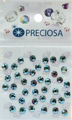 """Стразы термоклеевые Preciosa """"Light Siam АВ SS16"""", цвет: перламутровый, 40 шт"""