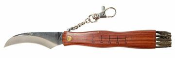 Нож грибника с кистью и меркой GR5040