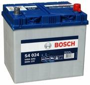 Аккумулятор для легковых автомобилей Bosch S4 024 Asia (60 А/h), 540A R+ (560 410 054)