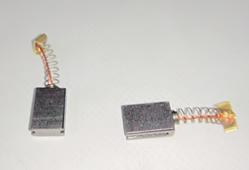 щетки угольные TE3610-2 (2шт) WORTEX SF7A225-2-28