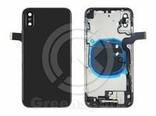 Корпус для iPhone X в сборе со шлейфами european version (черный) HC