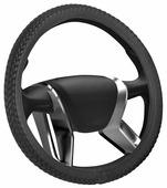 """Оплетка на руль Senator """"Montana"""", цвет: черный, диаметр 38 см"""