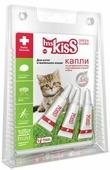 """Капли репеллентные """"Мисс Кисс"""" для котят и мелких кошек весом до 2 кг, 3 шт х 1 мл"""