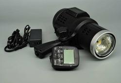 Импульсный свет FST F1-400 аккумуляторный моноблок