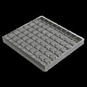 Meiser Решетка сварная оцинкованная (ячейка 34х38)