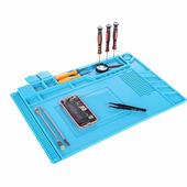 Профессиональный коврик для пайки и монтажных работ с магнитными вставками