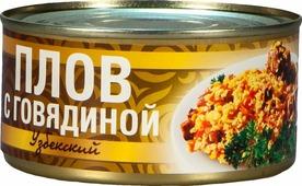 """Рузком Плов """"Узбекский"""" с говядиной, 325 г"""