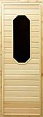 Деревянная дверь для бани Doorwood 185x75