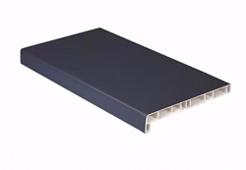 Подоконник ПВХ Crystallit Антрацит (матовый) 150мм