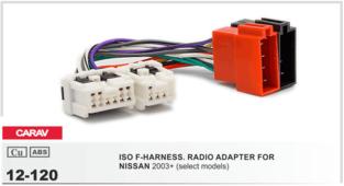 CARAV 12-120 - Штатный ISO Nissan 2003+
