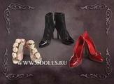 Набор обуви Tonner Moon Shadow Shoe Set (Лунная тень для кукол Тоннер)
