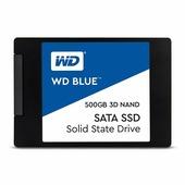 "Жесткий диск SSD 500Gb Western Digital Blue (WDS500G2B0A) (SATA-6Gb/s, 2.5"", 560/530Mb/s)"