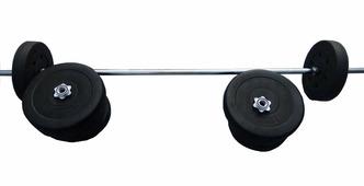Штанга 68кг (гриф прямой 150см+диски по 5 кг и 10 кг)