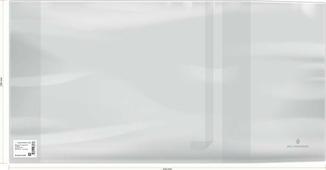 Набор обложек Greenwich Line, для учебников, 23631, 110 мкм, 28,6 х 55 см, 50 шт