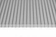 Поликарбонат сотовый Sunnex Серебро 6 мм