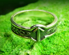 Кольцо Руна Тейваз / Teiwaz (серебрение)