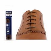 Шнурки Saphir 75см. круглые, тонкие (37 средне-коричневый)