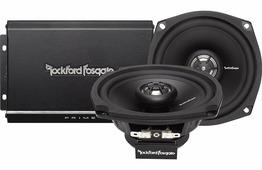 Аудиосистема для мотоцикла со встроенным усилителем Rockford Fosgate R1-HD2-9813 (HARLEY-DAVIDSON)