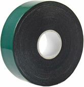 Скотч двухсторонний Rexant, 25 мм х 5 м, зеленый, на черной вспененной ЭВА основе {09-6125}