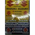 Наклейки LP Suzuki yellow
