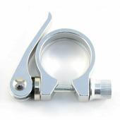 Хомут подседельный VincaSport с эксцентриком (34.9mm, silver)
