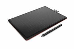 Графический планшет Wacom One Medium (CTL-672-N) (216x137mm, 2048 уровней нажатия)