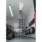 Лестница Чердачная Fakro Lmp 70X144 Металлическая Для Помещений С Высокими Потолками