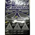 Наклейки LP Honda Blue
