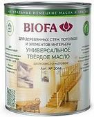 2044 Универсальное твердое масло BIOFA (Биофа) - 2002, 10 л, Производитель: Biofa