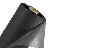 Плёнка ПВД черная рукав 1500мм*2 100мкм_ПМ.6456/21ПМ