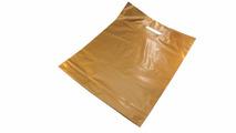 Пакет ПВД золото, с вырубной ручкой 40*50 70мкм, активированный, для шелкографии.5678/02gold