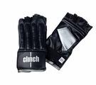 Перчатки снарядные (Шингарты) Clinch Bag Gloves Cut Finger черно-серебристые (размер L/XL)