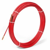 Протяжка-стеклопруток со сменными наконечниками FGP-4.5/10, красная (10 м, бухта) {77506}