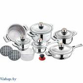 Набор посуды для готовки 16 предметов KB-7171 KLAUSBERG