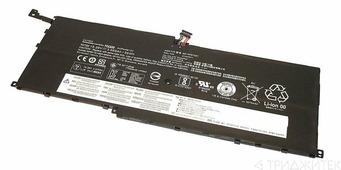 Аккумулятор 01AV409 для ноутбука Lenovo ThinkPad X1 Yoga, 15.28V, 56Wh,
