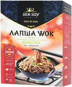 Sen Soy Premium лапша гречневая soba с соусом yakisoba и кунжутом, 235 г